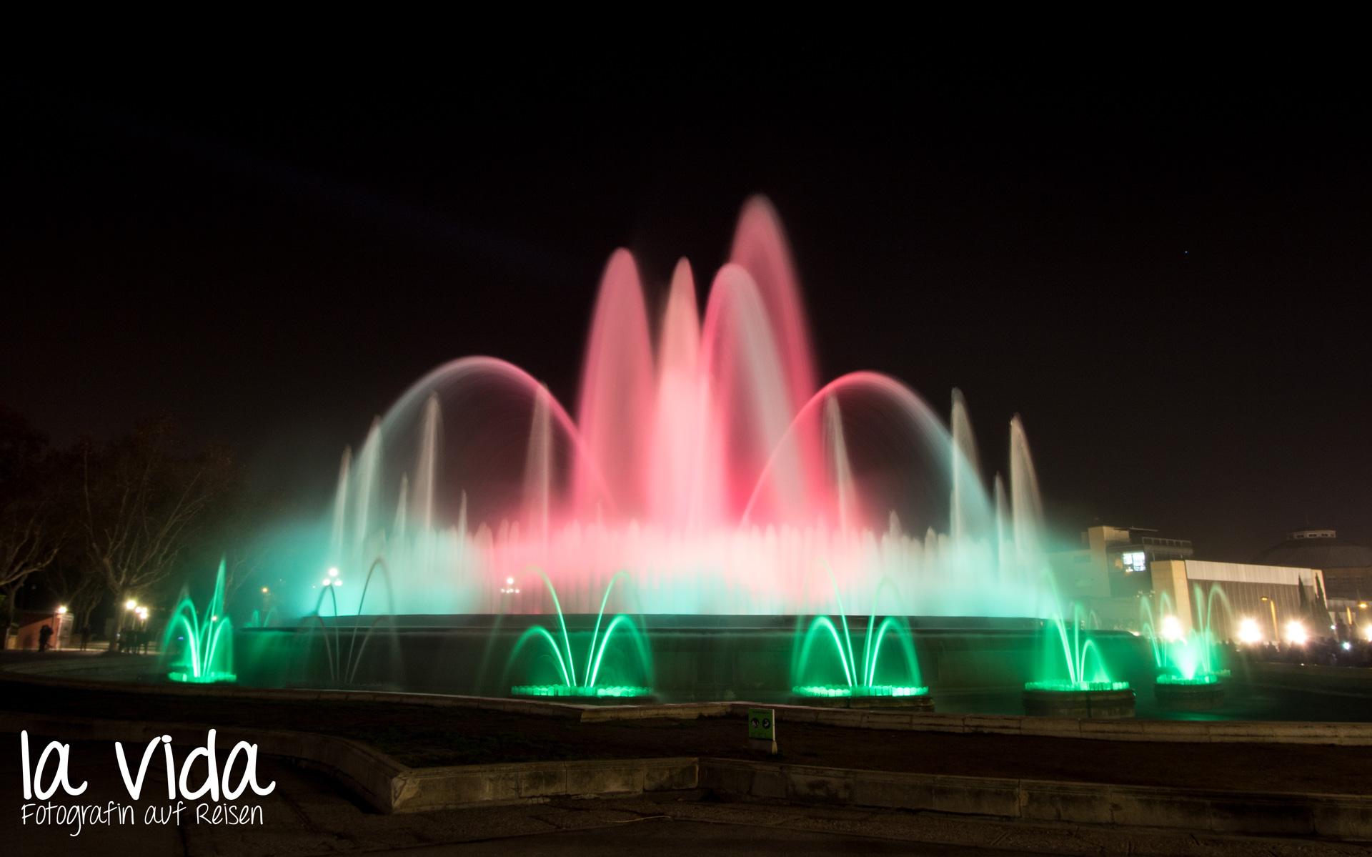 Das Lichtspiel am Brunnen
