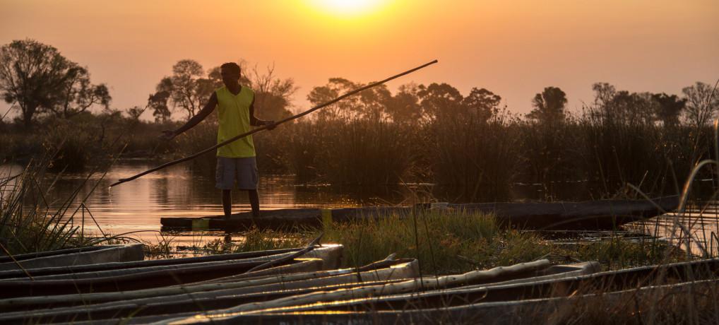 Botswana und Sambia 2014