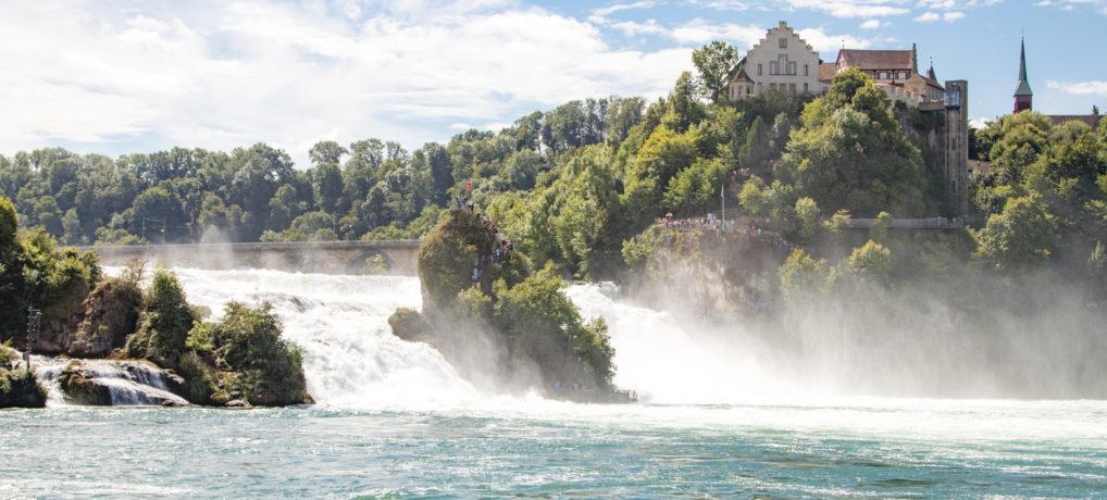 Rheinfall & Zürich 2017